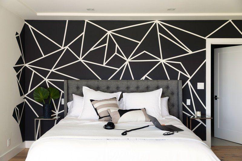 bedroom interiors & wall decors