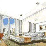 bedroom interior designs custom plan