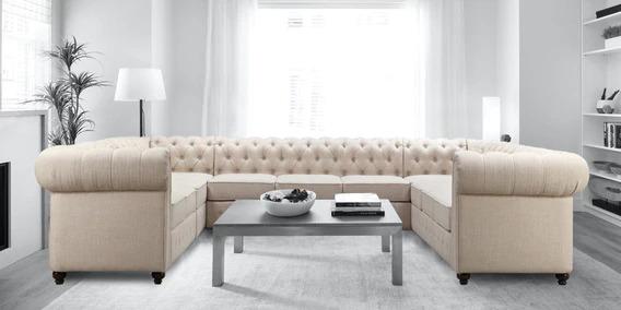 u-shape-modern sofa design